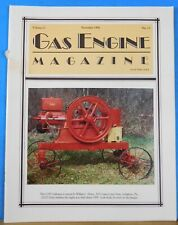 Gas Engine Magazine 1992 November Maytag Conversions