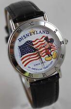 RARE Disney Disneyland An American Tradition Since 1955 Mickey Mouse Art Watch