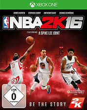 NBA 2K16 / 2016 für XBOX ONE | Basketball | NEUWARE | DEUTSCHE VERSION!