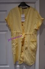 Light Yellow Zara Dress XS Extra Small 6 New