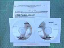 Microsoft SQL Server™ 2000 Enterprise Edition(New ! sealed CD +Key Code +25 CAL)