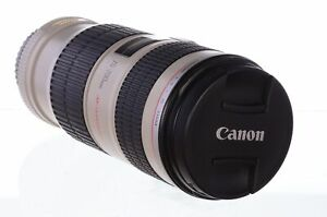 Canon 70-200mm f4 L IS USM, with hood, superb! 6 month guarantee