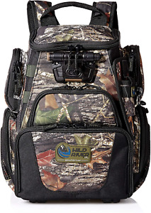 Wild River by CLC 503 Tackle Tek Recon LED Lighted Camo Compact Backpack, Mossy