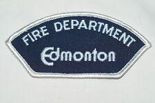 Canadian Edmonton Fire Department Patch