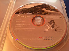 Audi Navigation plus (RNS-E) DVD Sat Nav Disc - Version 2010 West A3 A4 A6 TT