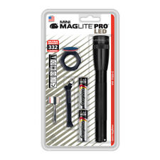Maglite SP+P09H Mini Maglite PRO LED 2-Cell AA GRAY Flashlight MADE IN USA!