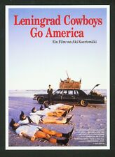 LENINGRAD COWBOYS GO AMERICA - 1988 - ANSICHTSKARTE POSTCARD