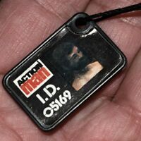 ☆ Action Man VAM Palitoy ☆ c1983-84 Type Dog Tag / ID  ☆ Code Name Strong Man ☆
