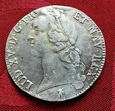 Ecu aux Bandeau Louis XV 1769 M