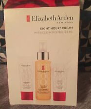 ELIZABETH ARDEN EIGHT HOUR BOXED SET-MIRACLE OIL,HAND CREAM & SKIN PROTECTANT🎀