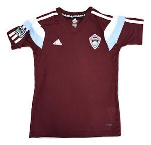 adidas MLS Youth Colorado Rapids adizero Soccer Jersey NWT $40 S,M,L,XL