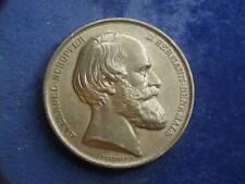 Zinn Medaille 1875 v. Brehmer Vollendung des Hermannsdenkmals - Lippe   W18/703