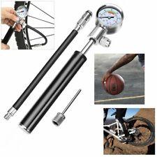 daj Fahrradpumpe Tragbare Mini Reifenfüller mit Manometer Leichte Hochdruck