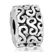 Fashion Woman Jewelry 925 Silver Clip European Charms Bead Fit Sterling Bracelet