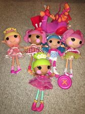 Lala Loopsy Full Size Dressed Doll Lot (5) With Remote Control Scooter