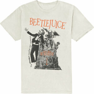 Beetlejuice: 'Here Lies Beetlejuice' T-Shirt *New And Official* *Tim Burton*
