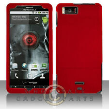 Motorola MB810 Droid X/X2 Shield Red Rubberized Cover Shell Protector Guard Skin