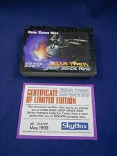 Skybox 1993 Star Trek Deep Space Nine - Series Premiere - Complete Set w/COA