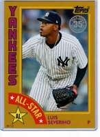Luis Severino 2019 Topps 1984 Topps All-Stars Oversize 5x7 Gold #84AS-LS /10 Yan