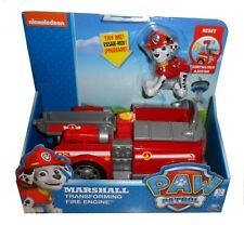 PAW PATROL MARSHALL TRANSFORMING FIRE ENGINE  *BNIB* SPIN MASTER + FIGURE
