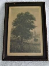 Original Etching by George Bell Signed