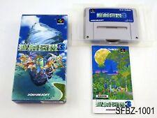 Complete Seiken Densetsu 3 Super Famicom Japanese Import Secret Mana US Seller B
