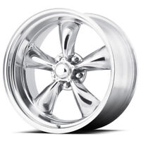 "4-AR VN515 Torq Thrust 2 20x8 5x5.5"" +0mm Polished Wheels Rims 20"" Inch"