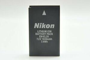 Genuine Nikon OEM EN-EL20 Battery for P. Coolpix A, Nikon 1 series J V AW