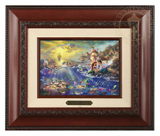 Thomas Kinkade Disney's Little Mermaid Framed Brushwork (Brandy Frame)