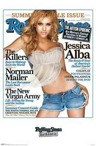 Rolling Stone Magazine - Jessica Alba Poster