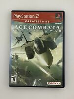 Ace Combat 5: The Unsung War (Greatest Hits) - Playstation 2 PS2 Game - Complete