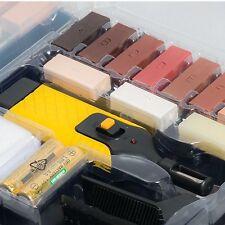 19pc pavimento laminato e piano di lavoro Kit di riparazione del sistema di cera per patatine e graffi