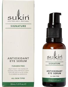 SUKIN Super Antioxidant EYE Serum Anti-aging Clean Eco Friendly 30ml new