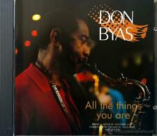 Don Byas -  All the things you are cd