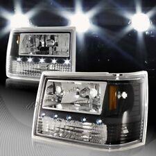 For Jeep Grand Cherokee All In 1 Black Housing LED HeadLights + Bumper + Corner