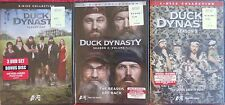 DUCK DYNASTY DVD SEASON 1 & SEASON 2 VOLUME 1 & SEASON 3 BRAND NEW SEALED!