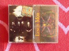 Lot of 2 LYNCH MOB Cassette Tapes Self Titled & Wicked Sensation METAL