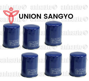 Set of 6 Union Sangyo OEM Quality Oil Filter's for  Honda & Acura