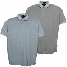 Kitaro camiseta polo Polo Shirt señores manga corta Easy care antracita gris plus tamaño