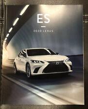 2020 LEXUS ES 52-page Original Sales Brochure