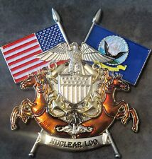 """Nuclear Limited Duty Officer LDO Challenge Coin Submarine Naval Reactors DoE 3"""""""