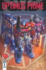 Optimus Prime # 1 Sub A Variant Cover NM Unread IDW