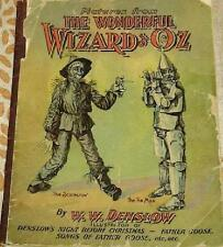 HALF PRICE scarce 1903  1st Ed THE WONDERFUL WIZARD OF OZ Pictures from DENSLOW