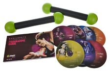 Zumba Exhilarate Exercice Fitness DVD Workout Set avec 2 Tonifiant Sticks 7 disques