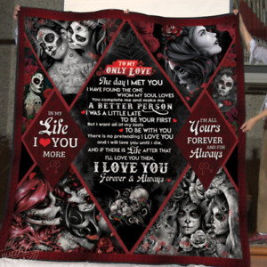To My Only Love Blanket, Couple Blanket, Wedding Blanket, Gift For Wife