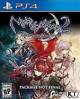Nights of Azure 2: Bride of the New Moon (Sony PlayStation 4, 2017)