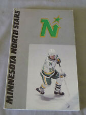 Original NHL Minnesota North Stars 1987-88 Official Hockey Media Guide