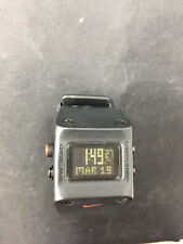 Nike WC0045 Black Rectangular Mens Digital Sport Watch A4772