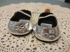 Build A Bear Silver Bling Dress Shoes