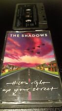 THE SHADOWS - IF ITS RIGHT UP YOUR STREET - CASSETTE TAPE ALBUM